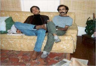[IMAGE of An 'alleged' Muslim, Pakistani, boyfriend of Obama.  I know I wouldn't sit that close to another man.  I would move the stuff over or off the couch.jpg